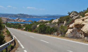 Radtour auf La Maddalena