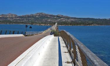 Brücke zwischen Maddalena und Caprera