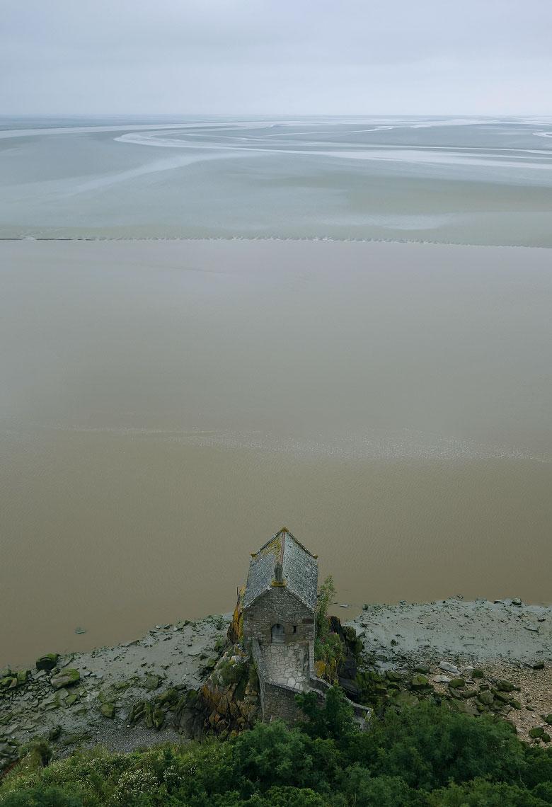 Das Ende der Welt: Kapelle am Mont-Saint-Michel