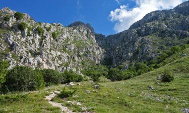 Aufstieg zum Monte Velino in den Abruzzen