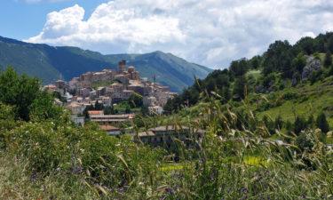 Castel del Monte in den Abruzzen