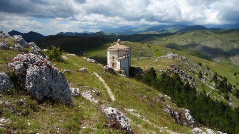 Kapelle Santa Maria della Pietà am Rocca Calascio