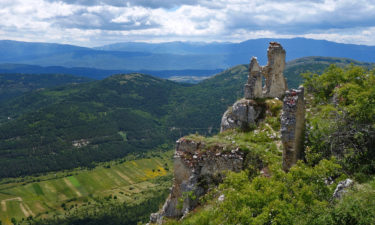 Talblick vom Rocca Calascio