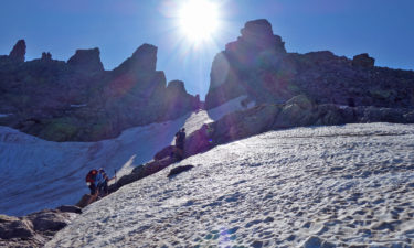 Aufstieg zum Brèche de Capitello Pass auf dem GR 20