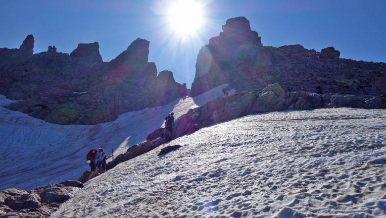 Aufstieg zur Brèche de Capitello auf dem GR 20