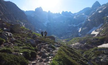 Aufstieg vom Refuge de Manganu zum Brèche de Capitello