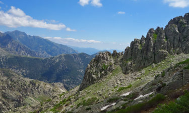 Bergpanorama auf Korsika