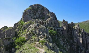 Gratwanderung auf Korsika