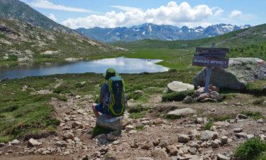 Campen verboten am Lac de Nino