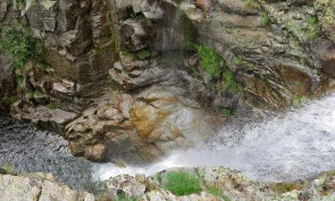 Wasserfall der L'Agnone auf Korsika