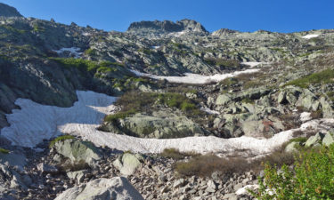 Aufstieg nahe des Refuge de Manganu