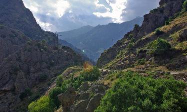 Straße nach Castellu di Verghio im Parc Naturel Régional de Corse