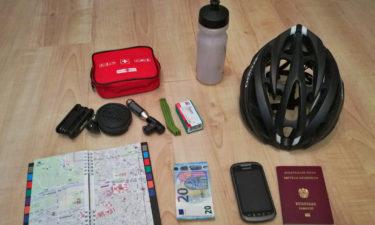 Ausrüstung für eine Radreise in Kroatien