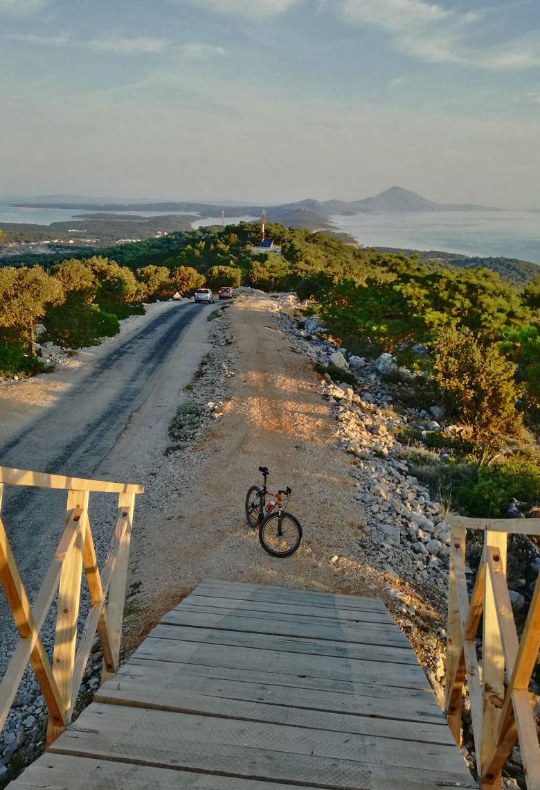 Radtour in Kroatien