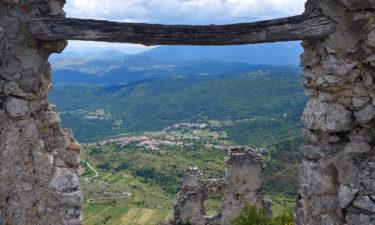 Aussicht vom Rocca Calascio