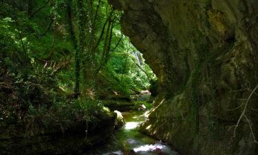 Fluss in der Orfento-Schlucht