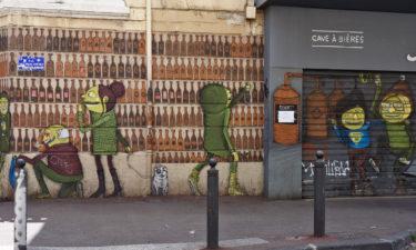 Getränkeladen nahe des Cours Julien in Marseille