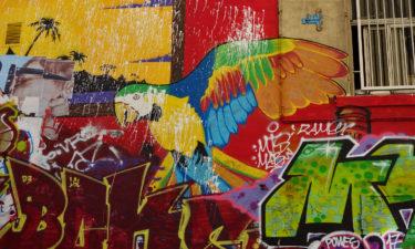 Street Art an den Escaliers du Cours Julien