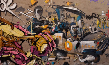 Street Art am Cours Julien