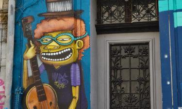 Street Art am Cours Julien in Marseille