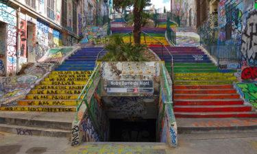Metro-Halt Notre Dame du Mont an den Escaliers du Cours Julien