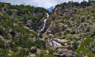 Wasserfall am GR 11 in den Pyrenäen