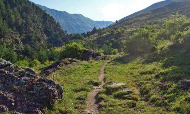 Wanderweg GR11 in den Pyrenäen