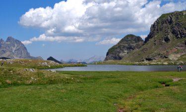Bergsee Ibón Norte de Anayet in den Pyrenäen