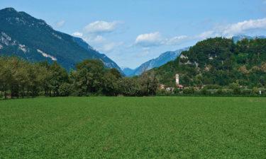 Alpe-Adria-Radweg in Norditalien