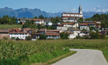 Conoglano am Ciclovia Alpe-Adria-Radweg