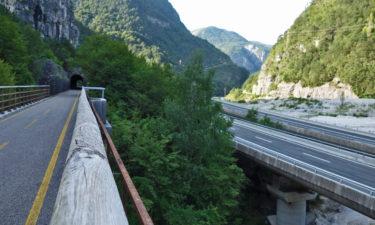 Ehemalige Bahnstrecke: Alpe-Adria-Radweg in Italien