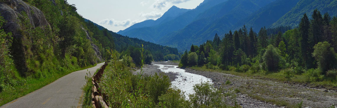 Alpenüberquerung von Süd nach Nord auf dem Alpe-Adria-Radweg