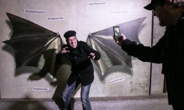 #iamthedragon in der Burg von Ljubljana!
