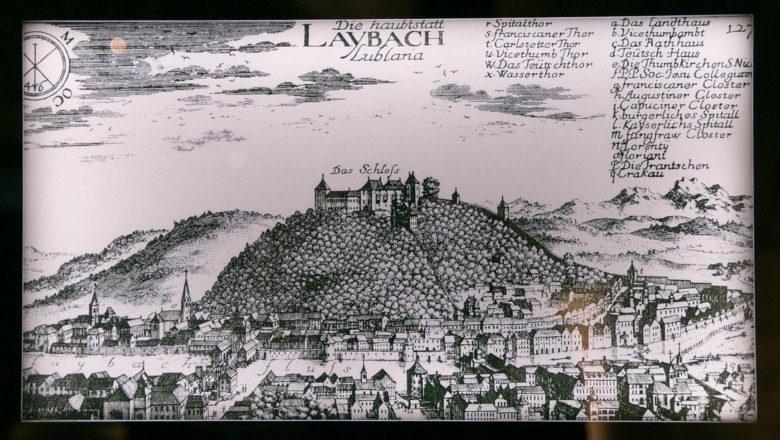 Die Burg von Laibach