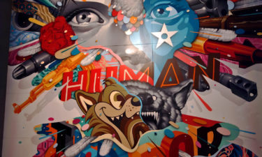 Magic City Ausstellung: Street Art von Tristan Eaton
