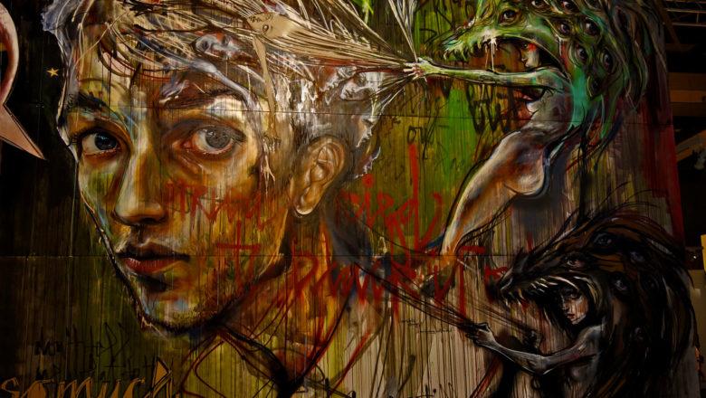 Magic City Ausstellung: Street Art von Herakut