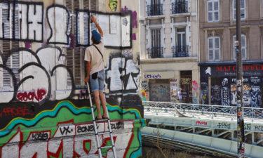 Künstler am Cours Julien in Marseille