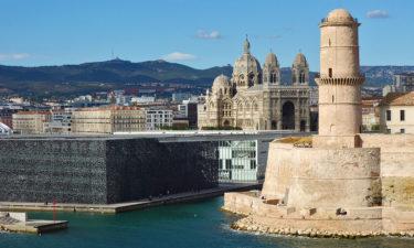 MuCEM, Kathedrale & Fort von Marseille