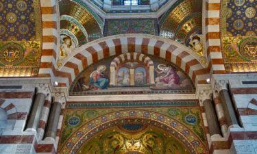 Im Inneren der Kirche Notre-Dame de la Garde