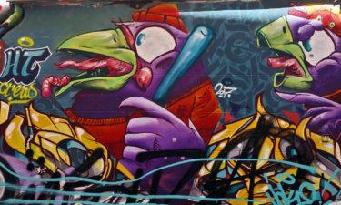 Street Art im Viertel La Plaine