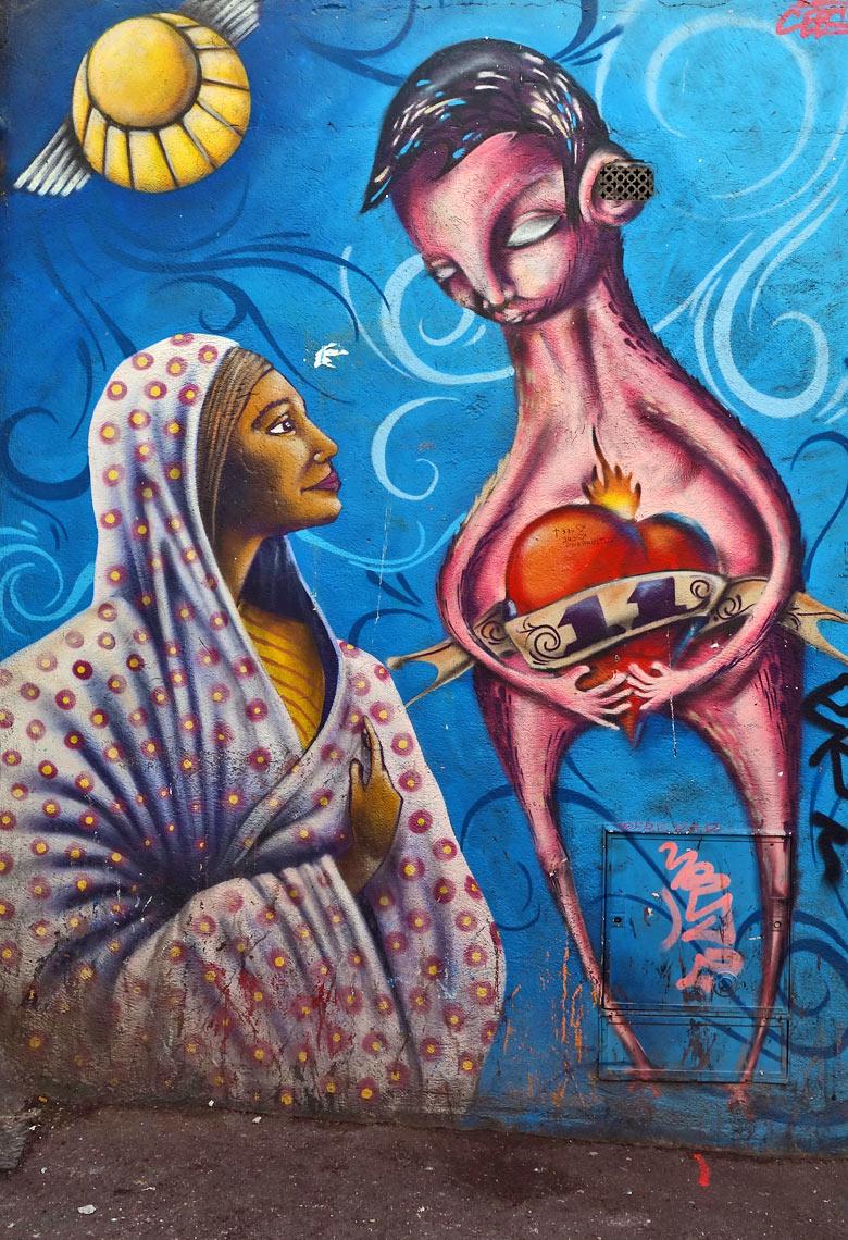 Street Art in La Plaine, Marseille