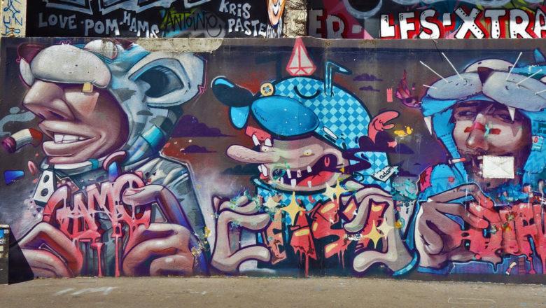 Street Art in La Plaine