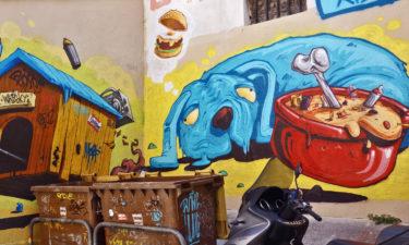 Streetart in Le Panier