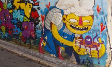Yummi! Street Art in Le Panier