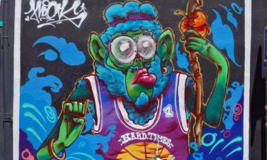 Streetart in Panier, Marseille