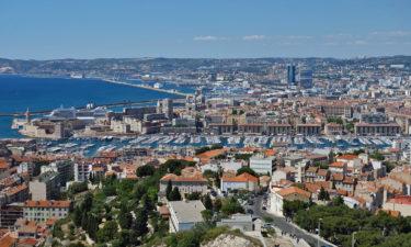 Viertel Le Panier und der Hafen von Marseille