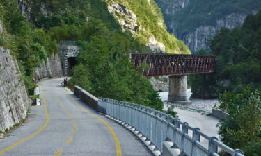 Ponte Di Ferro bei Chiusaforte