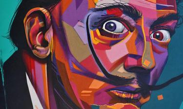 Salvador Dalí unter der Autoroute A 9 in Montpellier