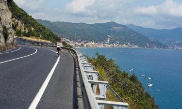 Radfahren an der italienischen Riviera