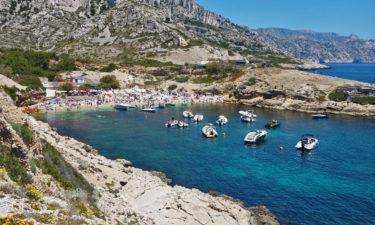 Strand der Calanque de Marseilleveyre